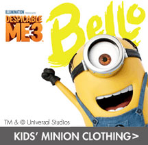 kids' minion clothing