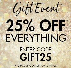 gift event 25% off everything