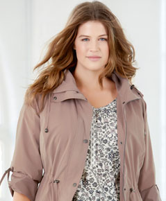Shop plus size coats and jackets